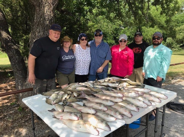 Fully guided fishing trips.