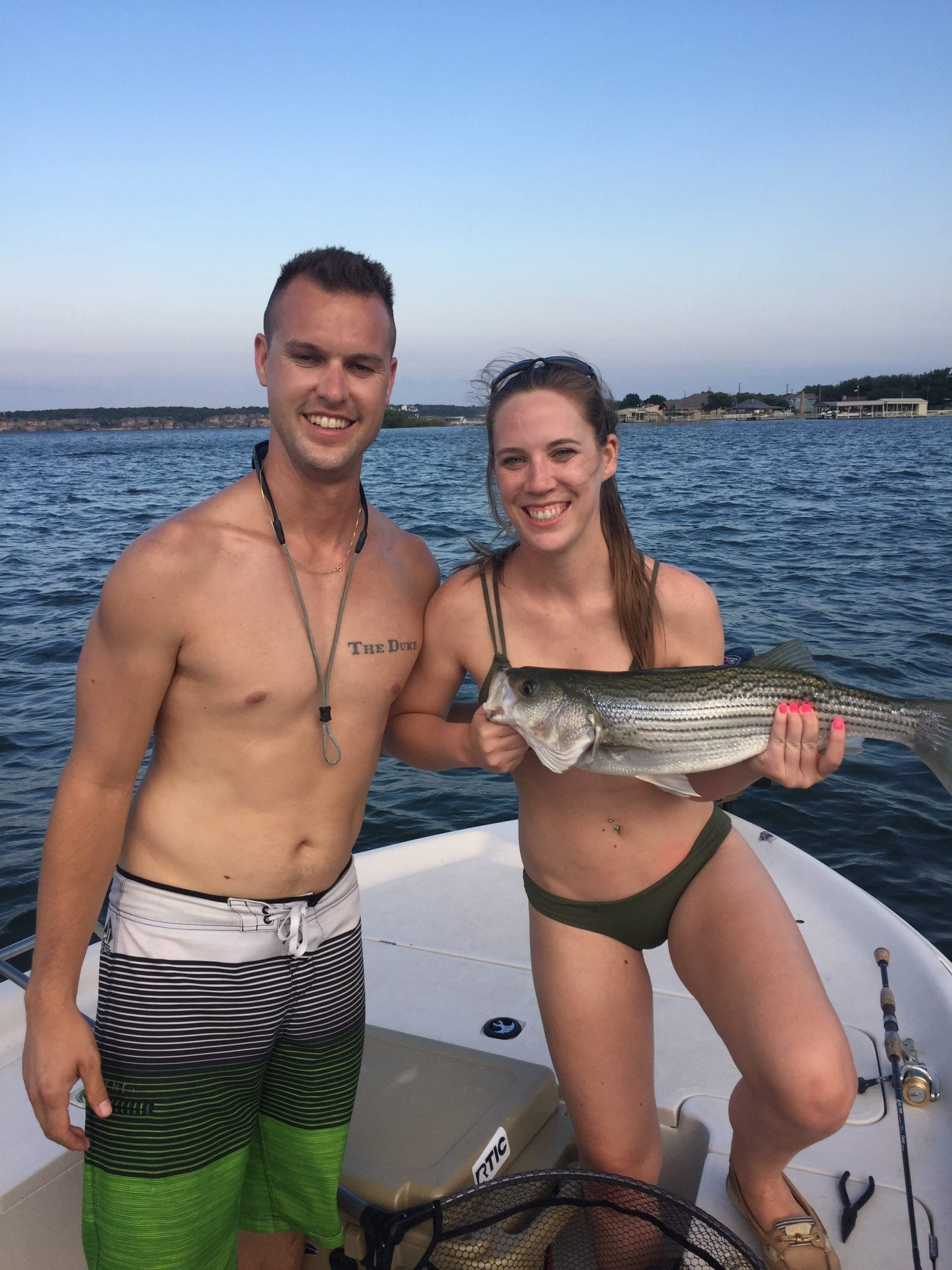 First striper for this couple.